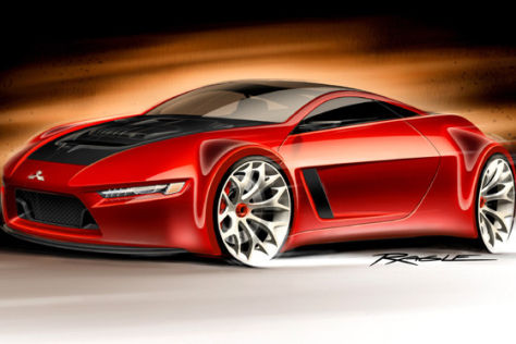 Mitsubishi-Studie Concept-RA