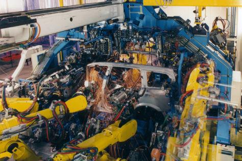 Opel Zafira-Produktion in Bochum