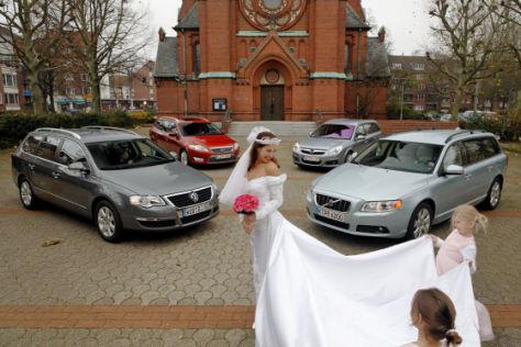 Volvo V70/Ford Mondeo/Opel Vectra/VW Passat