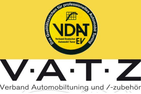 VDAT und VATZ Logo