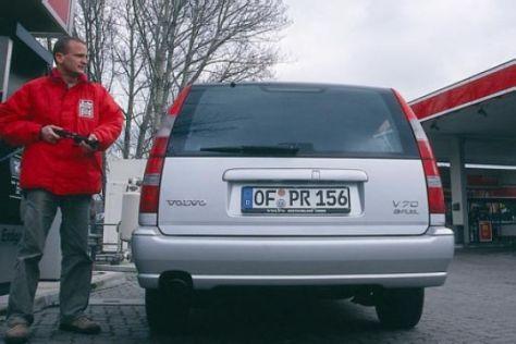 Volvo V70 Bi-Fuel