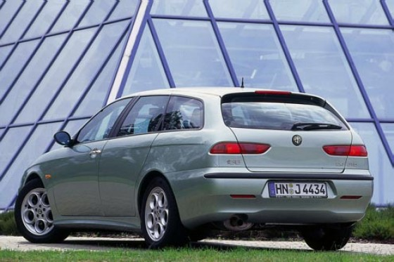 alfa romeo 156 sportwagon 2 4 jtd ach du heck. Black Bedroom Furniture Sets. Home Design Ideas