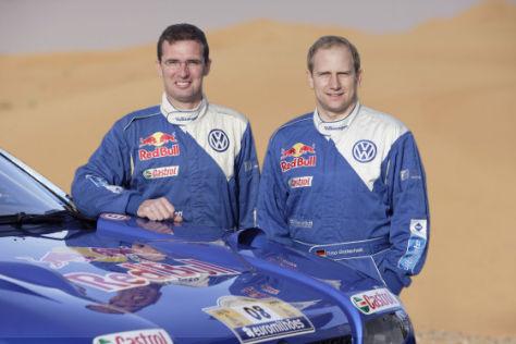 Dieter Depping und Timo Gottschalk Dakar 2008