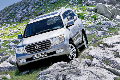 Test Toyota Land Cruiser V8