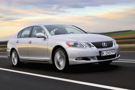 Test Lexus GS 450h