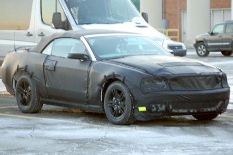 Ford Mustang Erlkönig (2010)