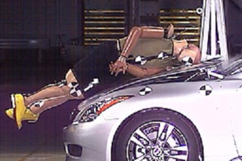 Aktive Motorhaube bei Nissan