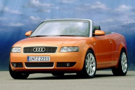 Das neue Audi A4 Cabrio 2.4