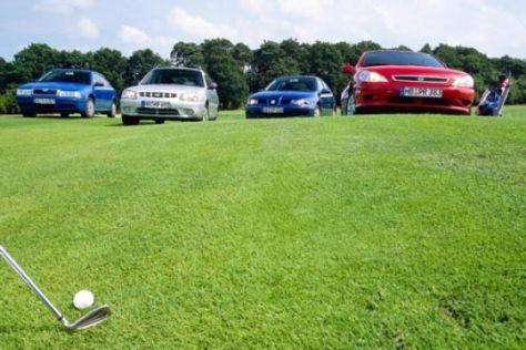 Vier preiswerte Golf-Alternativen