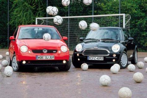 VW Lupo 1.4 gegen Mini One 1.6