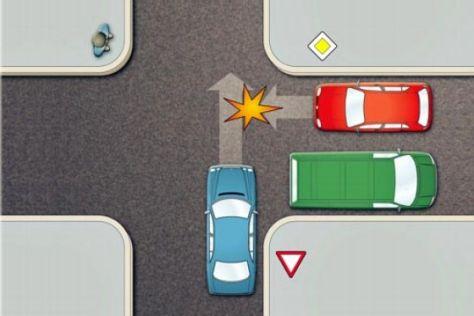 Vorgetäuschte Unfälle