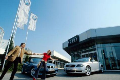 Audi TT 1.8 T gegen BMW Z3 2.2i
