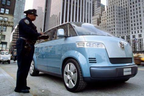 Mit dem VW Microbus durch New York