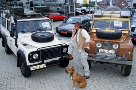 Land Rover 109 (1968), Defender 110 TDi (1996)