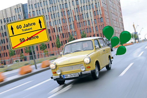 ddr auto trabant 60 geburtstag des trabis. Black Bedroom Furniture Sets. Home Design Ideas