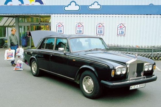 gebrauchtwagen test rolls royce silver shadow ii. Black Bedroom Furniture Sets. Home Design Ideas