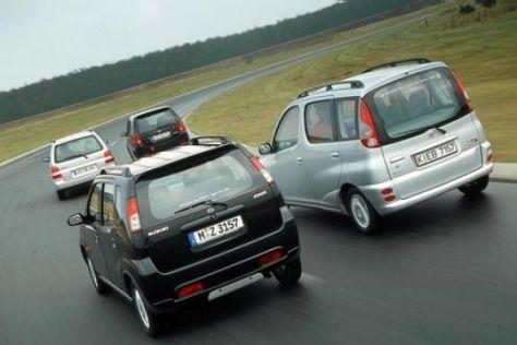 Daihatsu gegen Mazda, Suzuki und Toyota