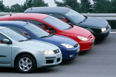 Vier kompakte Diesel im Vergleich