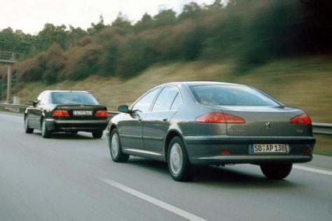 Peugeot 607 V6 gegen Mercedes E 280