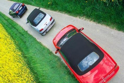 Vergleichstest Kompakt-Cabrios