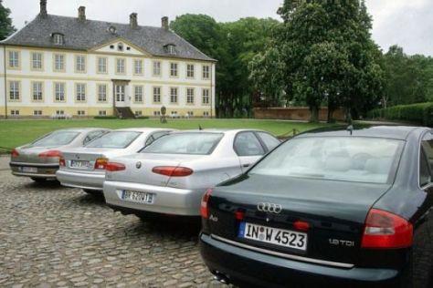 Vergleich Oberklasse-Diesel