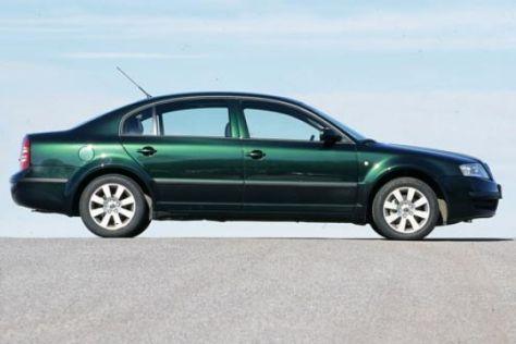 Skoda Superb 1.8 T gegen VW Passat 5V Turbo