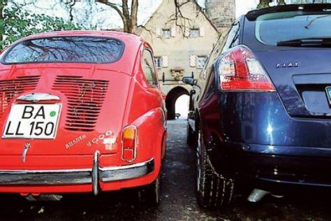 Abarth-Vergleich: Fiat 1000 gegen Fiat Stilo 2.4