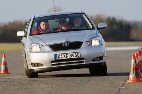 Vergleich: Astra-Civic-Corolla-Stilo-307