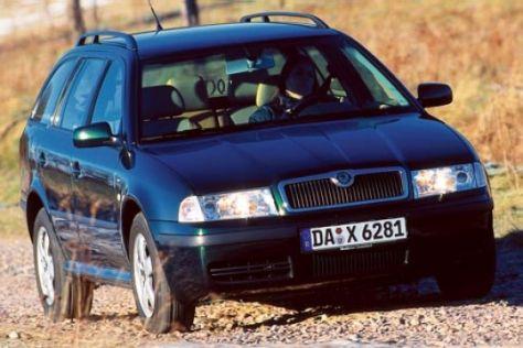 Skoda Octavia Combi 4x4 1.9 TDI