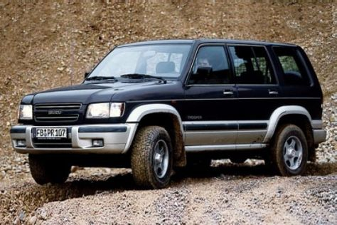 Isuzu Trooper eTAgas
