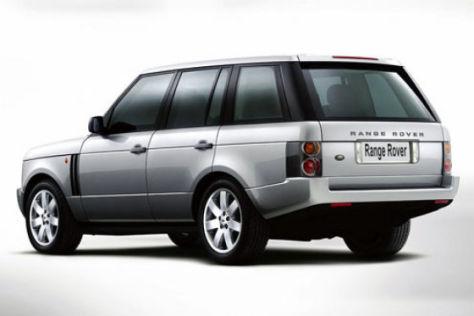 Land Rover gibt Gas