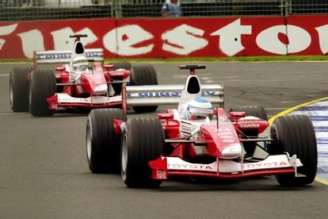 Formel-1-Neuling Toyota