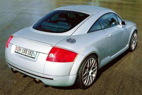Audi TT von Sportec