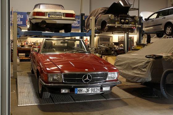 Mercedes-Teile werden knapp