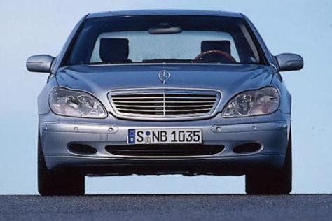 Kugelsicherer Mercedes fürs Glamour-Paar