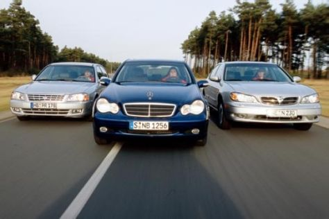 Mercedes gegen Kia und Nissan