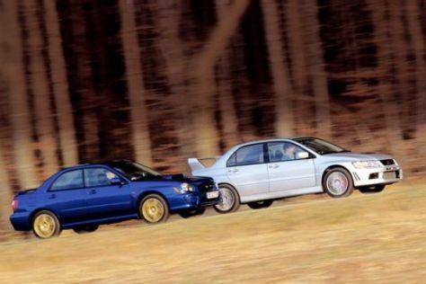 Mitsubishi Lancer Evo VII/ Subaru Impreza WRX