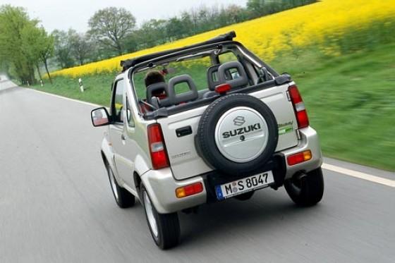 Suzuki Jimny 1.3 Cabrio - Frischluft für 14.220 Euro ...