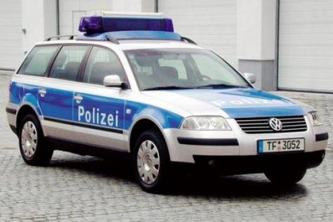 Neue Streifenwagen in Brandenburg