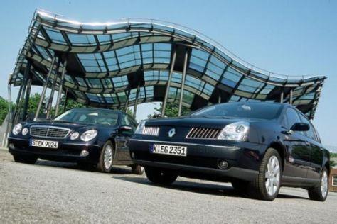 Mercedes E-Klasse gegen Renault Vel Satis