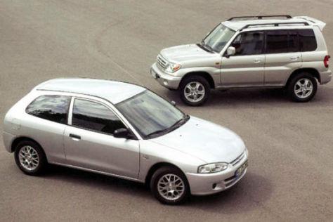 Mitsubishi: Pajero Pinin und Colt