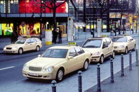 E-Klasse als Taxi