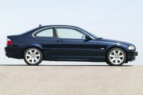 BMW 330 Ci gegen Mercedes CLK 320