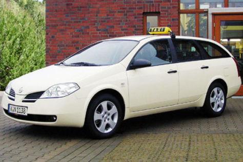 Nissan Primera als Taxi