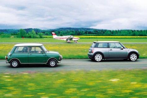 Mini Cooper S – 1965 und heute