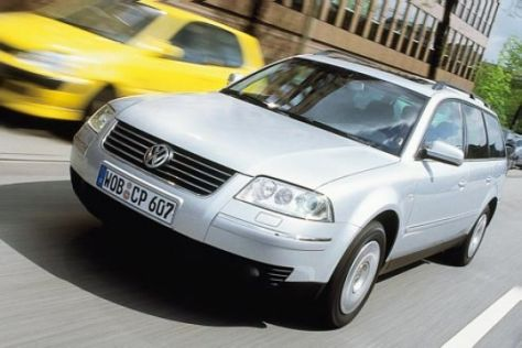 VW Passat Variant 4motion 1.9 TDI Highline