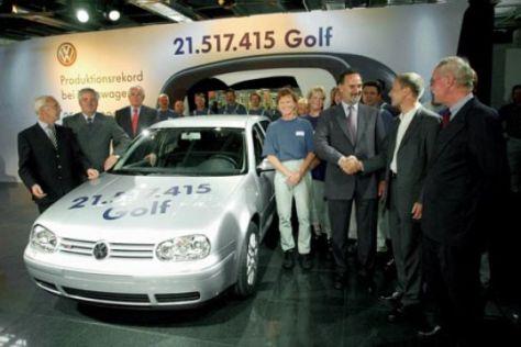 Volkswagen feiert den Golf
