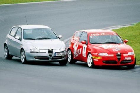 Alfa 147 JTD Serie und Cup-Version