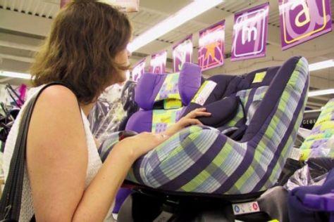 Kindersitze aus dem Supermarkt