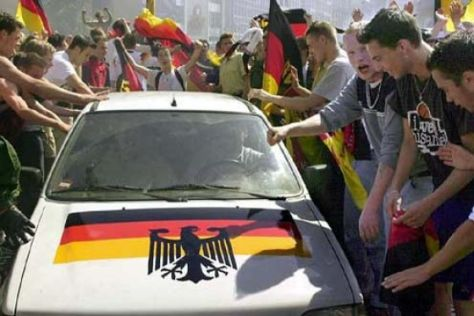 Deutschland feiert den Vize-Weltmeister